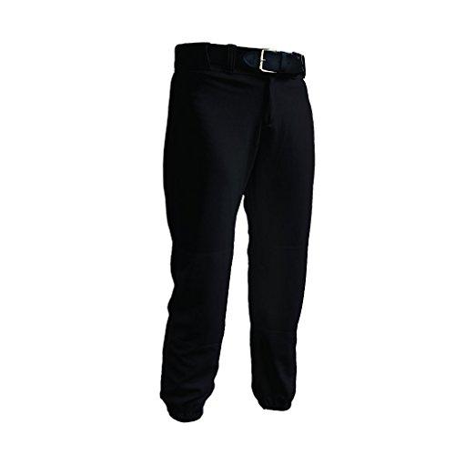 TAG Women's Low Rise Softball Pant (X-Large) Black