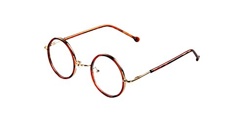 Glasses headband Tortoise Vintage Small Round Eyeglass Frames Glass Spectacles Retro UNI Optical Eyewear sunglasses bifocal glasses - Round Spectacles Small
