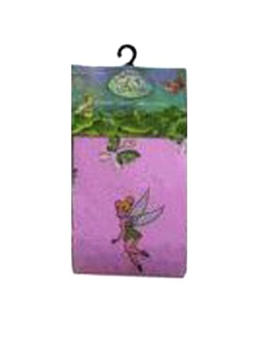 Pink Tinkerbell Girls Fashion Tights Size 4-6 -