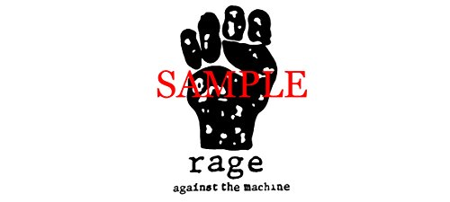 WHITE RAGE AGAINST THE MACHINE BAND DECAL LOGO WINDOW NEW STICKER (Rage Against The Machine Decal compare prices)