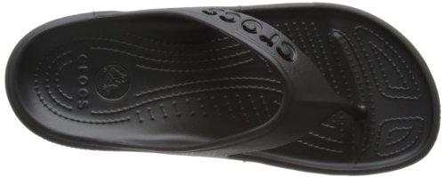 Adulto Crocs Flip Black Unisex Baya Chanclas qCczwa6v