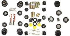 Energy Suspension 11.18101G Bushings - Energy Suspension Hyperflex Bushing Kits Bushing Kit - Polyurethane - Black - Madza - RX-7 - Kit (Suspension Energy V8)
