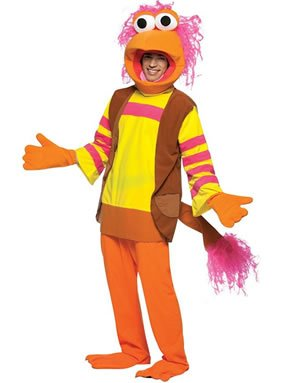 Fraggle Rock GoBo Costume - One Size - Chest Size 48-52