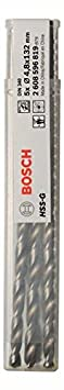 Bosch Pro Metallbohrer HSS-G geschliffen mit langer Arbeitslänge (5 Stück, Ø 2 mm) 2608596809