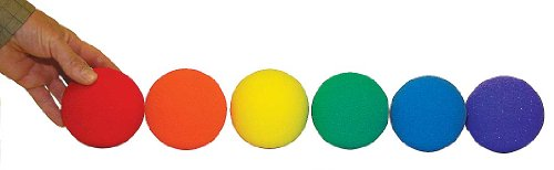 Foam Softball Trainer Set of6 by Great Lakes Sports