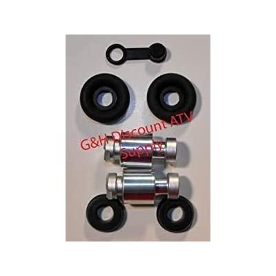 NEW Front Brake Wheel Cylinder Rebuild Kit for the 2004-2006 Honda TRX 350 & 2004-2007 TRX 400 Rancher: Automotive
