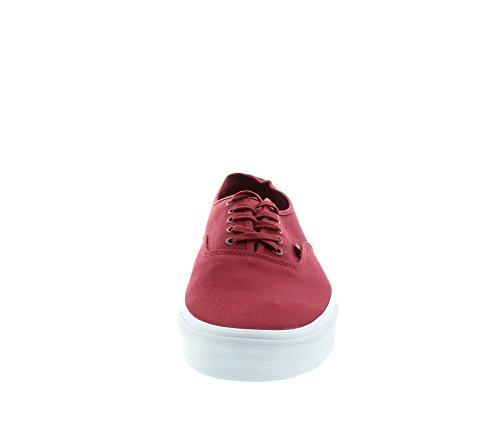 Vans U AUTHENTIC (MONO) BLACK - Zapatillas de lona para mujer Rot ((Mono) sun drie / DIU)