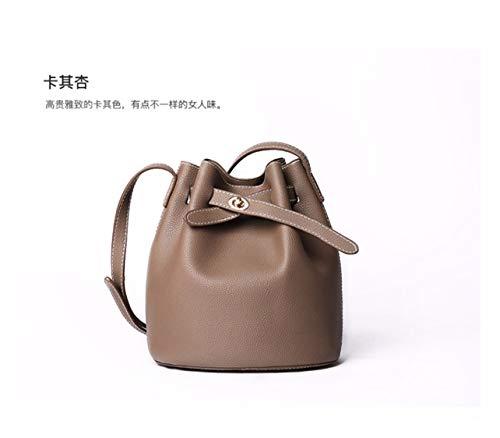 Lady Retro Arrjee Albicocca Spoon Bag Scale Soft Pu Recreational Flour Dolce Borsa verde Leaning Fashion Semplice 7qd175C