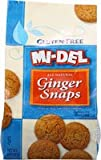 Midel Ginger Snaps, Gluten Free - (Case of 8-8 oz)