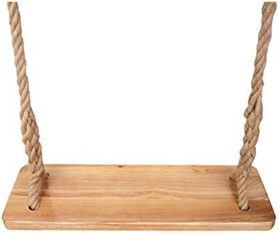 折りたたみスイング 木製スイング子供のスイング屋内屋外スイング高品質木製ジュートロープスイングシート荷重300キログラム 調整可能なスイング (サイズ : D)