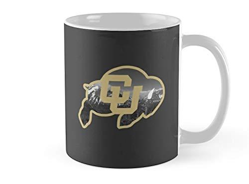 (Blade South Mug University of Colorado Boulder (mountains) Mug - 11oz Mug - Features wraparound prints - Made from Ceramic - Best gift for family friends )