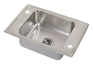 Elkay Pacemaker Bath Sinks (Elkay PSDKR2517 Pacemaker Double Ledge Classroom Sink, Single Bowl, Sink Only)