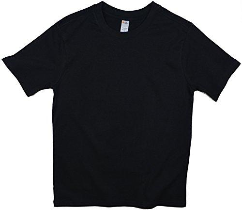 Earth Elements Big Kid's (Youth) Short Sleeve T-Shirt Large Black (Shirt Element Black)