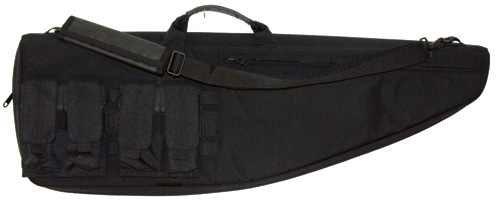 Boyt Tactical Ballistic Nylon Fabric Profile Shaped Tactical Rifle/Carbine Case (Black, 41-Inch)