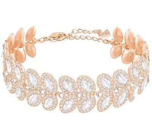 Swarovski Crystal Baron Rose Gold-Plated Bracelet