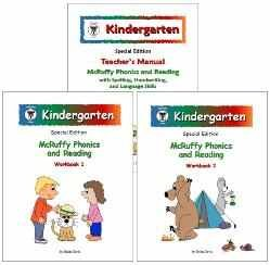 Mcruffy Press - McRuffy Press Kindergarten SE Phonics and Reading Curriculum
