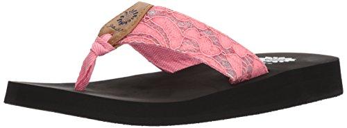 Yellow Amina Women's Sandal Box Coral HrHwZ