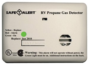MTI Industries 20-441-P-WT Safe T Alert 20 Series Propane/LP Gas Alarm - White