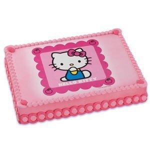 Hello Kitty Edible Image Icing Art Cake Topper 1 Image