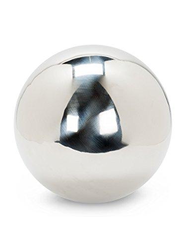 Abbott Collection Garden Gazing Ball, Silver (Jumbo) by Abbott Collection