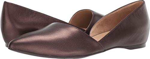 Naturalizer Women's Samantha Chocolate Pearl Leather 8 M US
