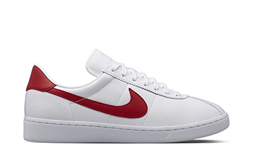 brand new 87139 ac574 Nike Air Bruin Leather Marty McFly White Red sz 8 Mens  Amazon.ca  Shoes    Handbags
