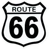 No,005 ROUTE 66 輸入アメリカン雑貨 ステッカー スタンダード バイク、車、自転車に!