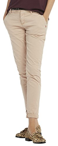 Scotch & Soda Maison 138350, Pantalones para Mujer Rosa (Blush 71)