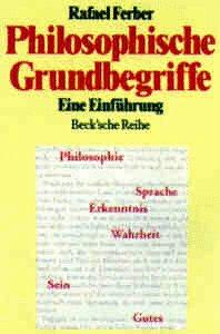 Philosophische Grundbegriffe. Eine Einführung.