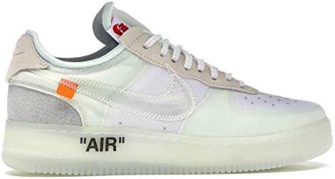 オフホワイト Air Force 1 Low Off-White バッシュ スニーカー WHITE/WHITE-SAIL ※代引き不可_28.5 [並行輸入品]