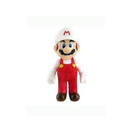 Super Mario 5 inch Fire Mario Action - Mario Inch Figures 5