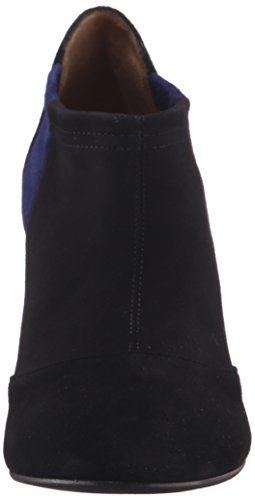 Aquatalia Womens Vale Stretch Suede Boot Black/Midnight X6oset7