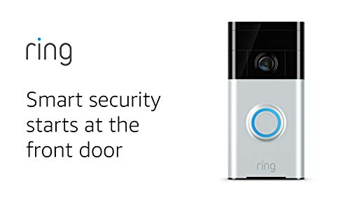 Ring WiFi Enabled Smart Video Doorbell ~ USED
