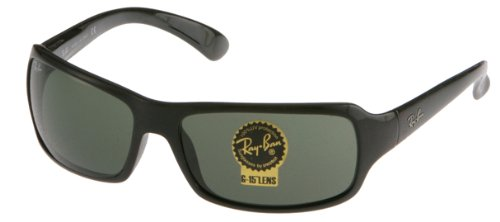 Ray Ban RB4075 Sunglasses-601S Matte Black (G-15XLT (601s Matte Black 7bee97daf700