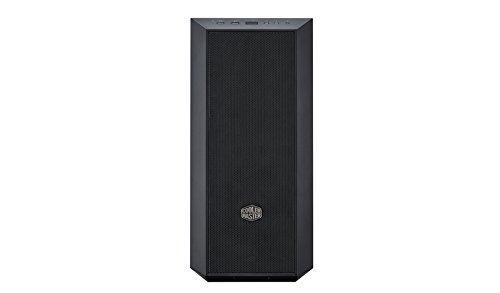 Cooler Master Masterbox5 Midi-Tower Black Computer Case - Computer Case (Midi-Tower, PC, Plastic, Steel, ATX, Micro-ATX, Mini-ITX, Black, Game)