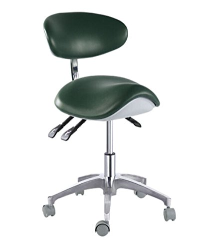 APHRODITE Mobile chair Saddle-1 Doctor's Stool Micro Fiber Leather Chair Sold by East Dental