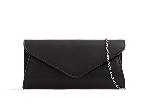 LeahWard Women/'s Faux Leather Flap Clutch Bags Wedding Party Handbags For Women
