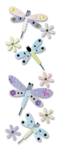 Jolees A Touch Of Jolees Dimensional Stickers, Dragonfly -