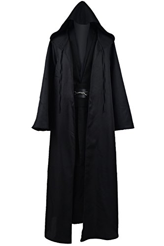 Cosdaddy® Mens Cosplay Costume Halloween Outfit Black Version (Custom Made Halloween Costumes For Men)