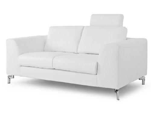 Angela Sofa Color: White