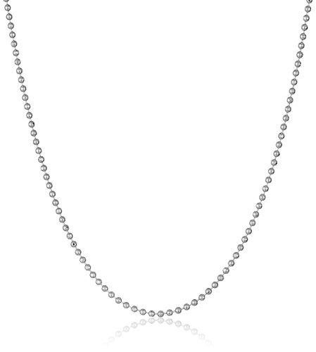 weight Bead Chain 0.9mm Chain Necklace, 18
