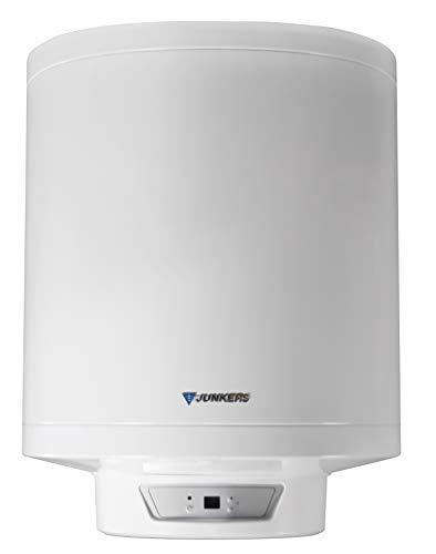 Junkers Grupo Bosch Termo Electrico 50 litros Elacell Excellence | Calentador de Agua Vertical y Horizontal, Resistencia Ceramica, 2000w