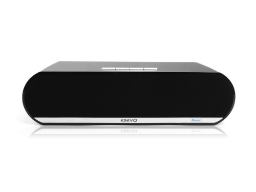 - Kinivo BTX450 Premium Bluetooth Boombox with Powerful 10W Dual Drivers and Passive subwoofer