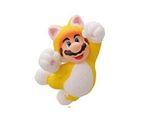 Furuta Choco Egg Party~Super Mario 3-D World Figure~Cat Mario 44mm (Super Mario 3d World Cat Figure)