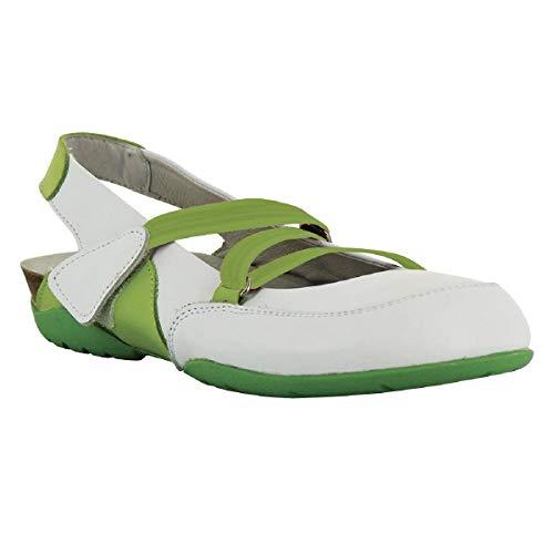 P36 Chaussure Vert Ibiza Medicale Blanc dIwOO7