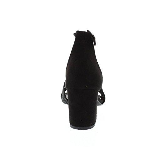 De Marco Womens 28306 textile Sandales Cornemuse Peigne Noir Tozzi Joueur qBBw1HxfEF