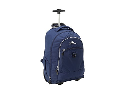 (High Sierra Chaser Wheeled Laptop Backpack, True)