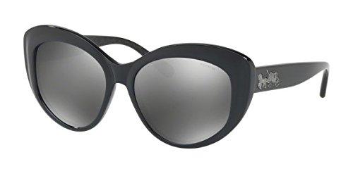 Coach Womens Sunglasses Black/Grey Plastic - Non-Polarized - - Sunglasses Coach