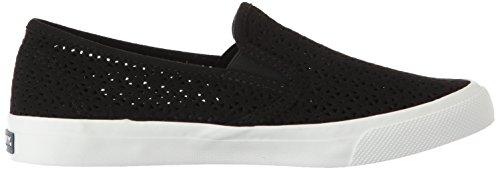 Shoes Women's Black Nautical Sperry Seaside Perf gUz67Pq