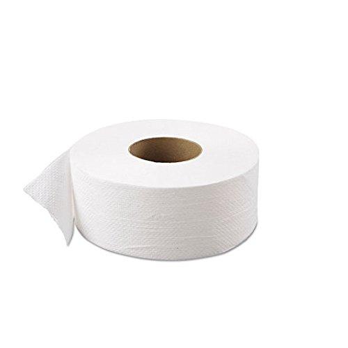 Jumbo Roll Green - Atlas Paper Mills 800GREEN Green Heritage Jumbo Junior Roll Toilet Tissue, 2-Ply, 9